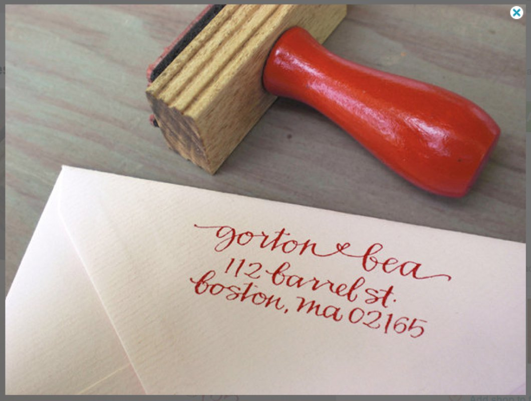 Wedding Invitation Address Labels Etiquette