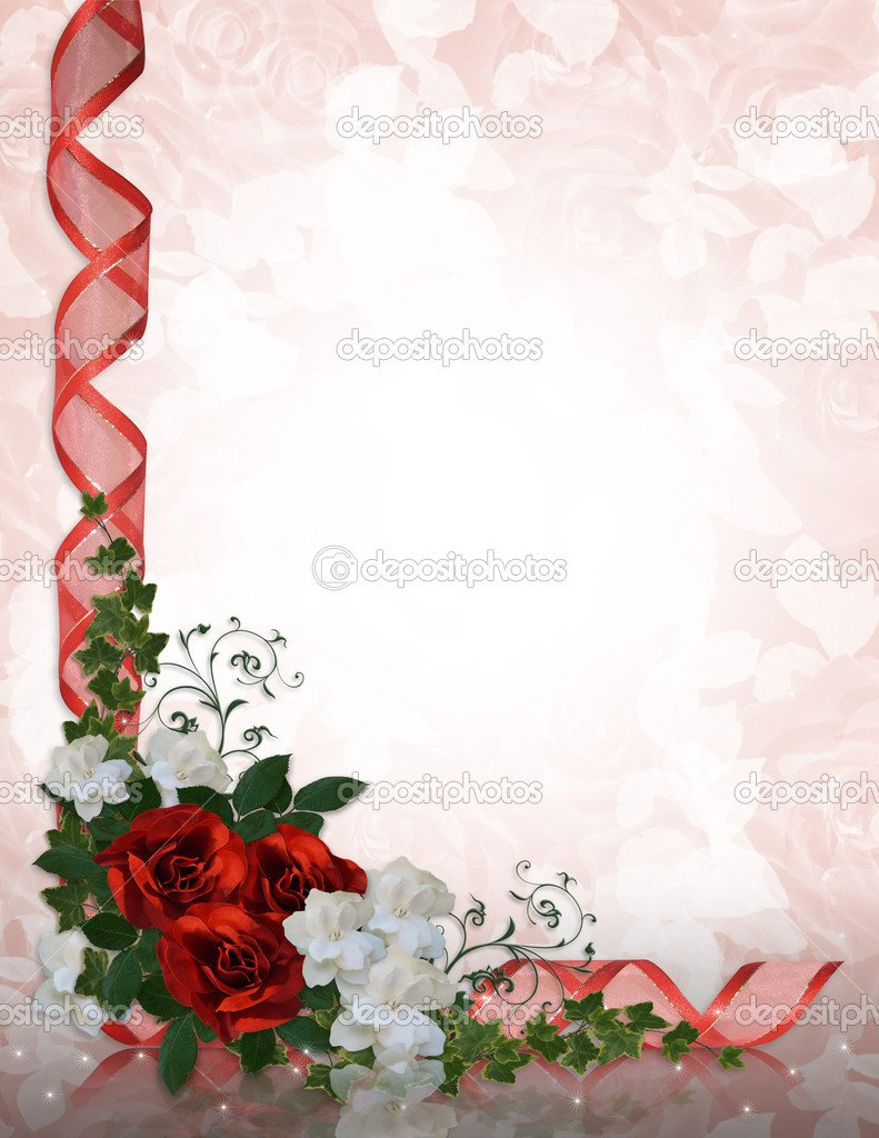Wedding Invitation Border Templates