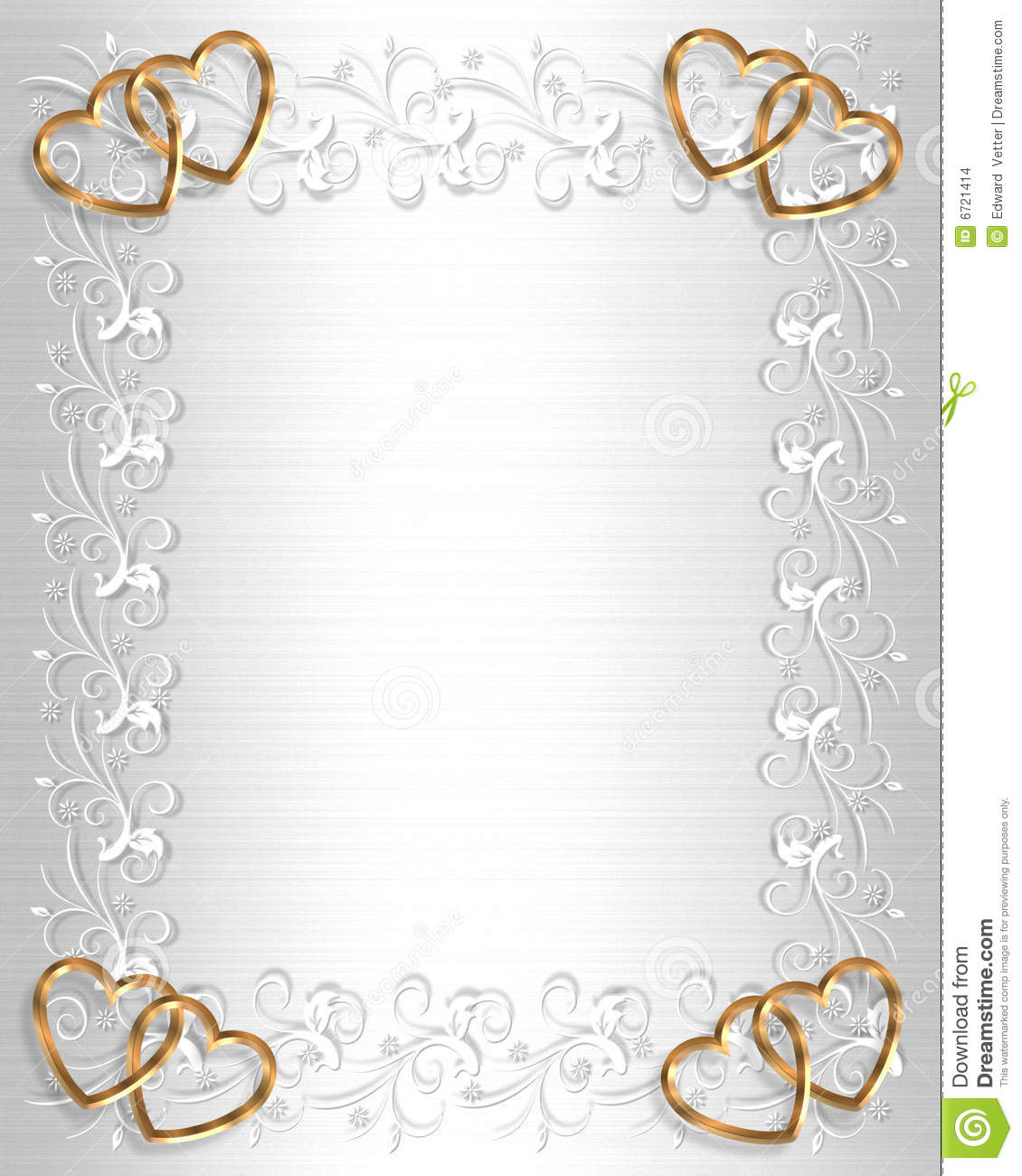 wedding invitation borders