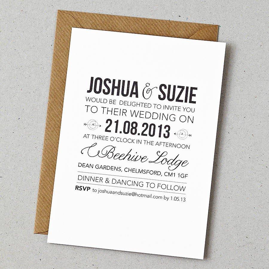 Wedding Invitation Envelope Template Free