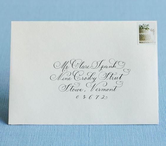Wedding Invitation Etiquette Address