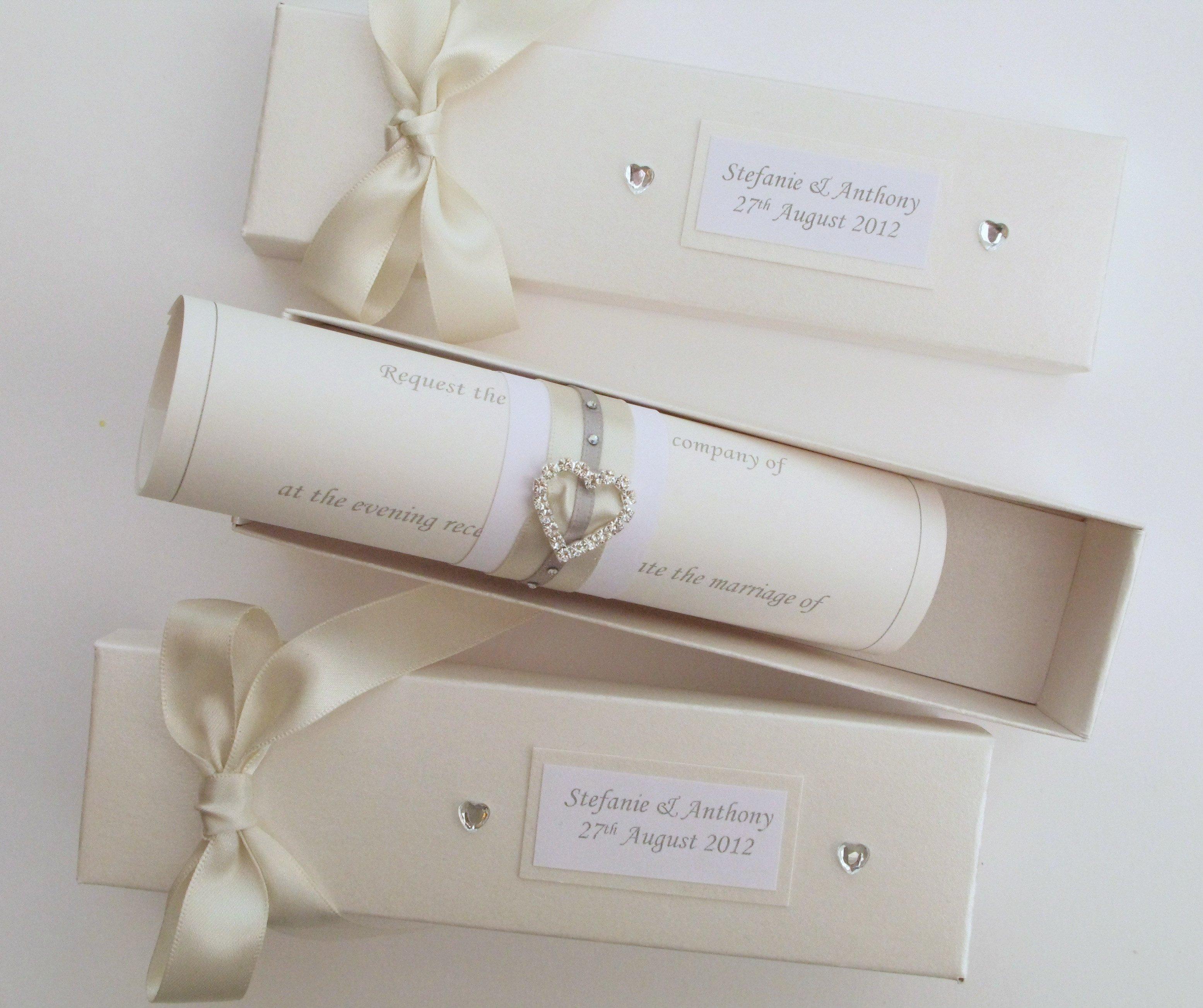Wedding Invitation Insert Paper