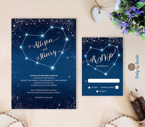 Wedding Invitation Sets Etsy