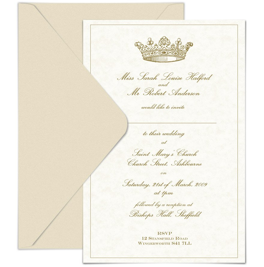 Wedding Invitation Wording Casual