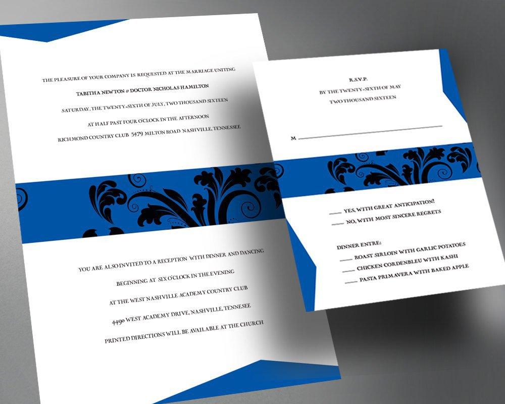 Wedding Invitations Pdf Printable