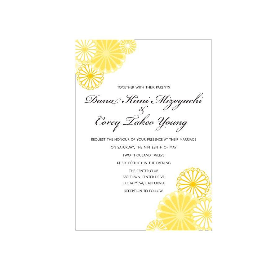 Wedding Invitations Printable Pdf