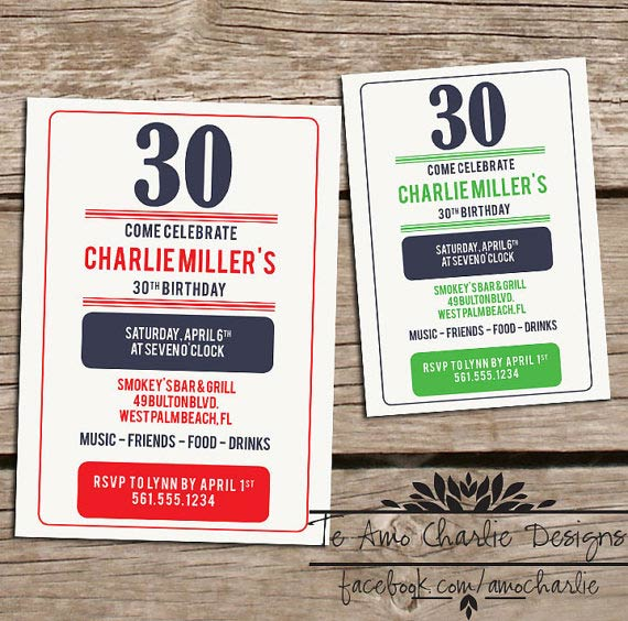 Western Birthday Invitations For Adults