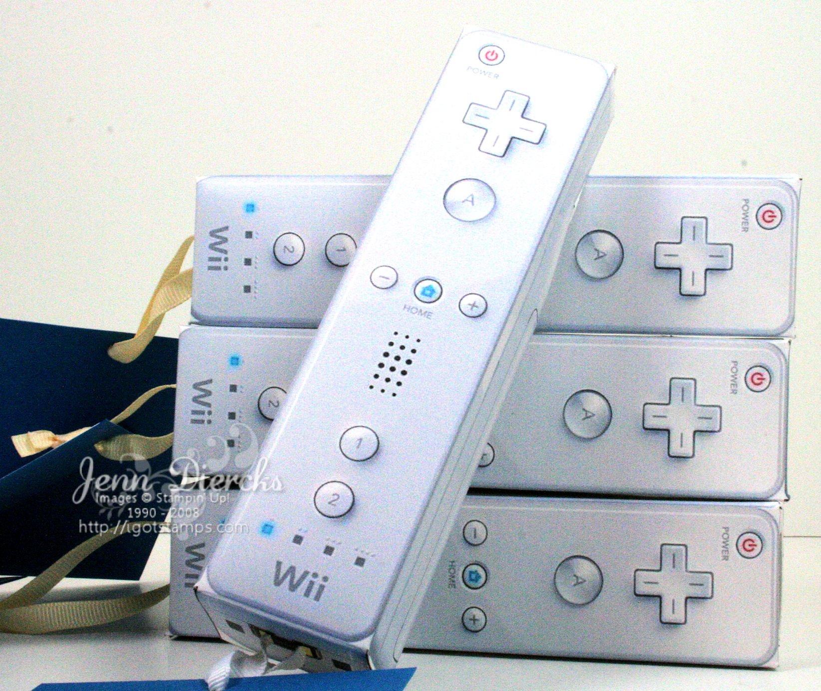 Wii Invitation Templates