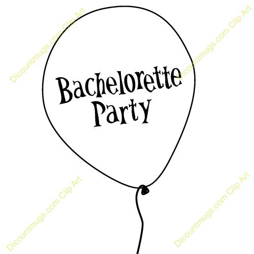 Wine Bachelorette Party Clip Art