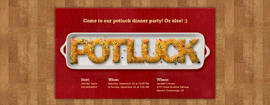 Work Thanksgiving Lunch Invitations
