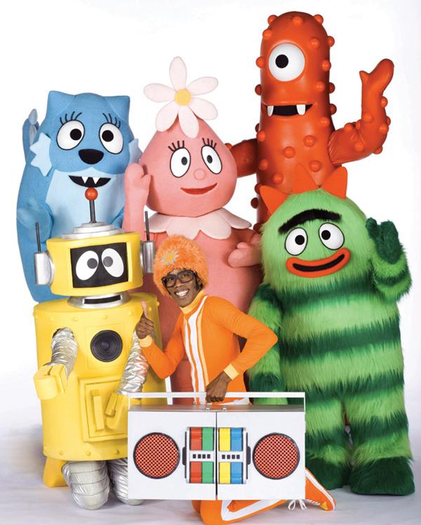 Yo Gabba Gabba Characters In Real Life