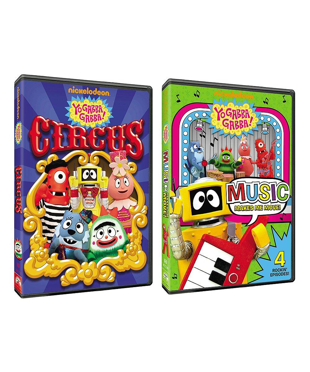 Yo Gabba Gabba Circus Dvd Episodes