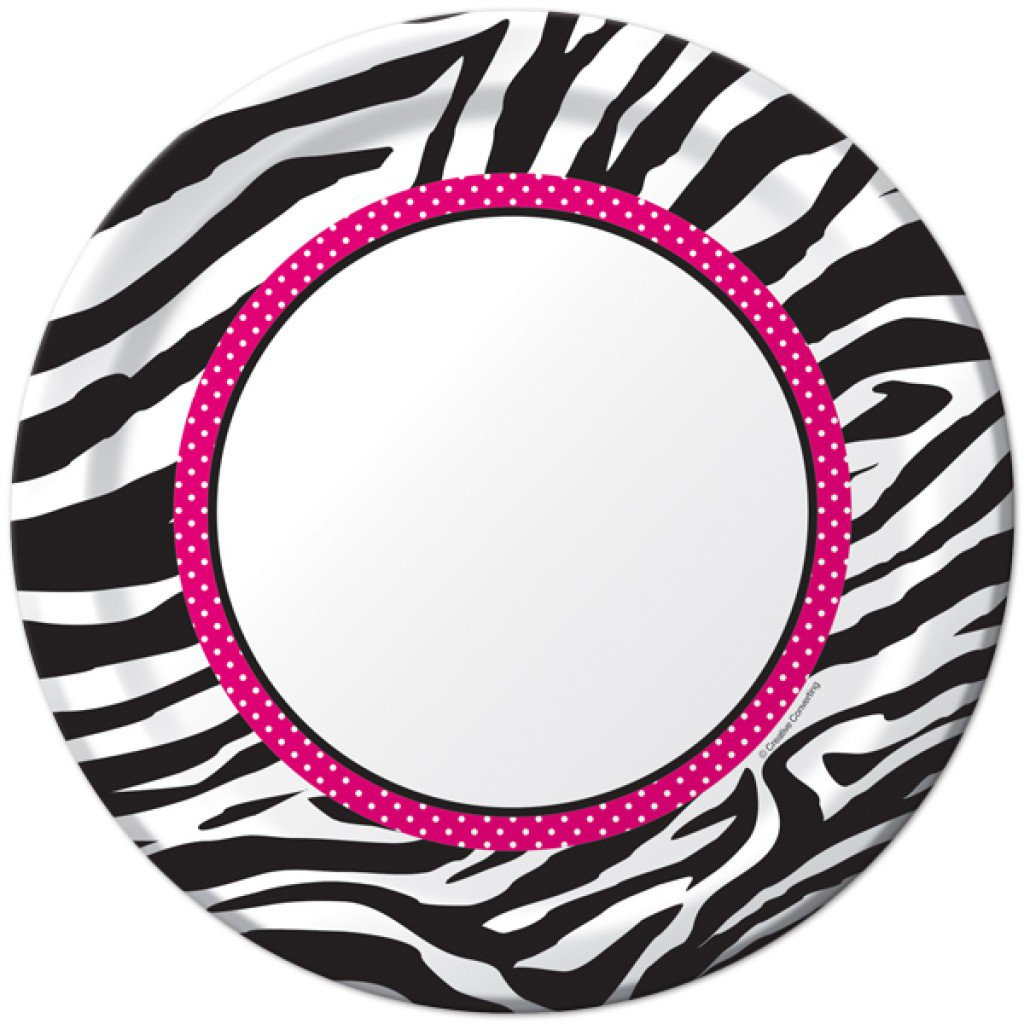 Zebra Print Invitation Templates