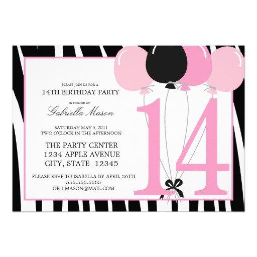 13th Birthday Invitation Wording Ideas