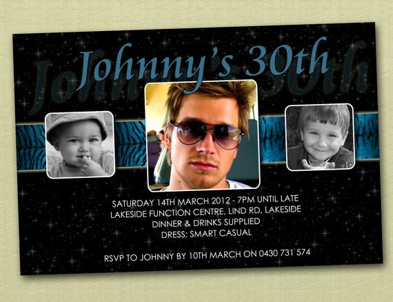Birthday Invitations For Guys – Personalised 21st Birthday Invitations