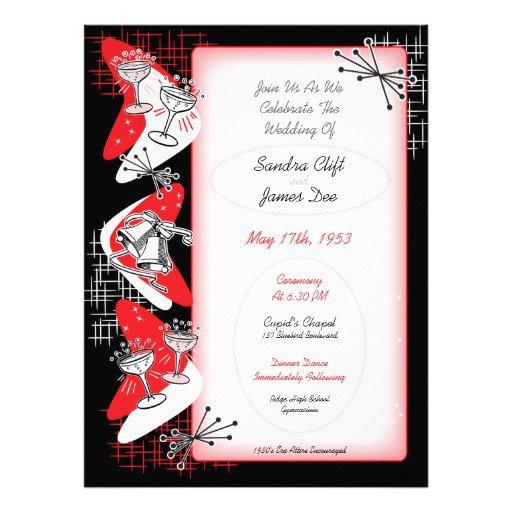 1950s Invitations