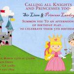 1st Princess Castle Birthday Invitation
