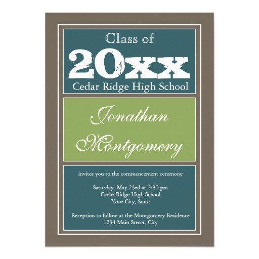 2014 Graduation Party Announcements