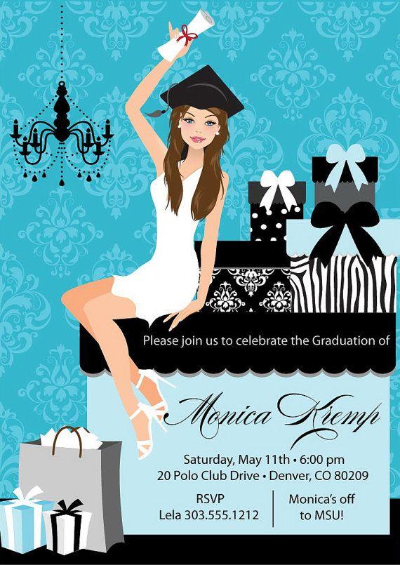 2015 College Graduation Party Invitations