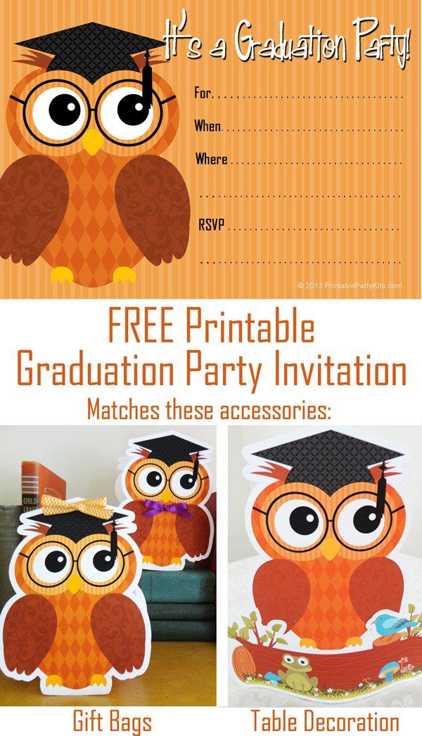 2015 Graduation Invitation Templates