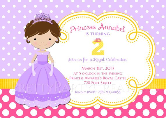 2nd Birthday Party Invitation Wording – 2nd Birthday Invite Wording
