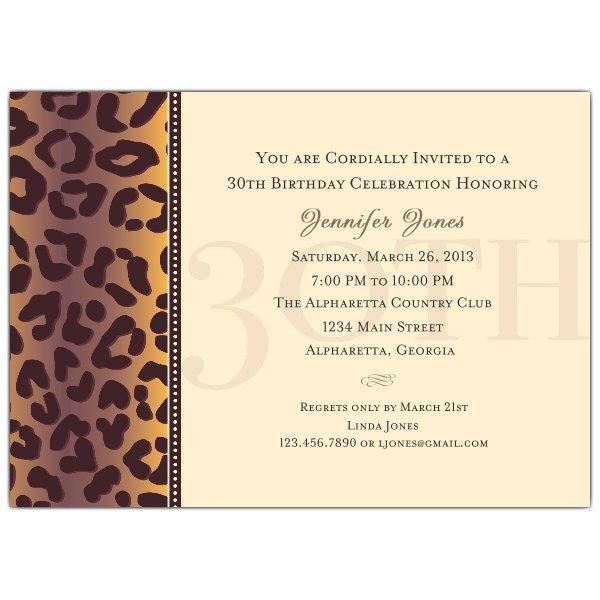 30th birthday party invitation wording filmwisefo