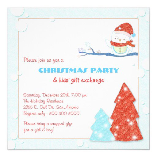 39;s Christmas Party Invitations
