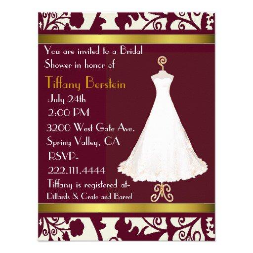 39;s Wedding Shower Invitations