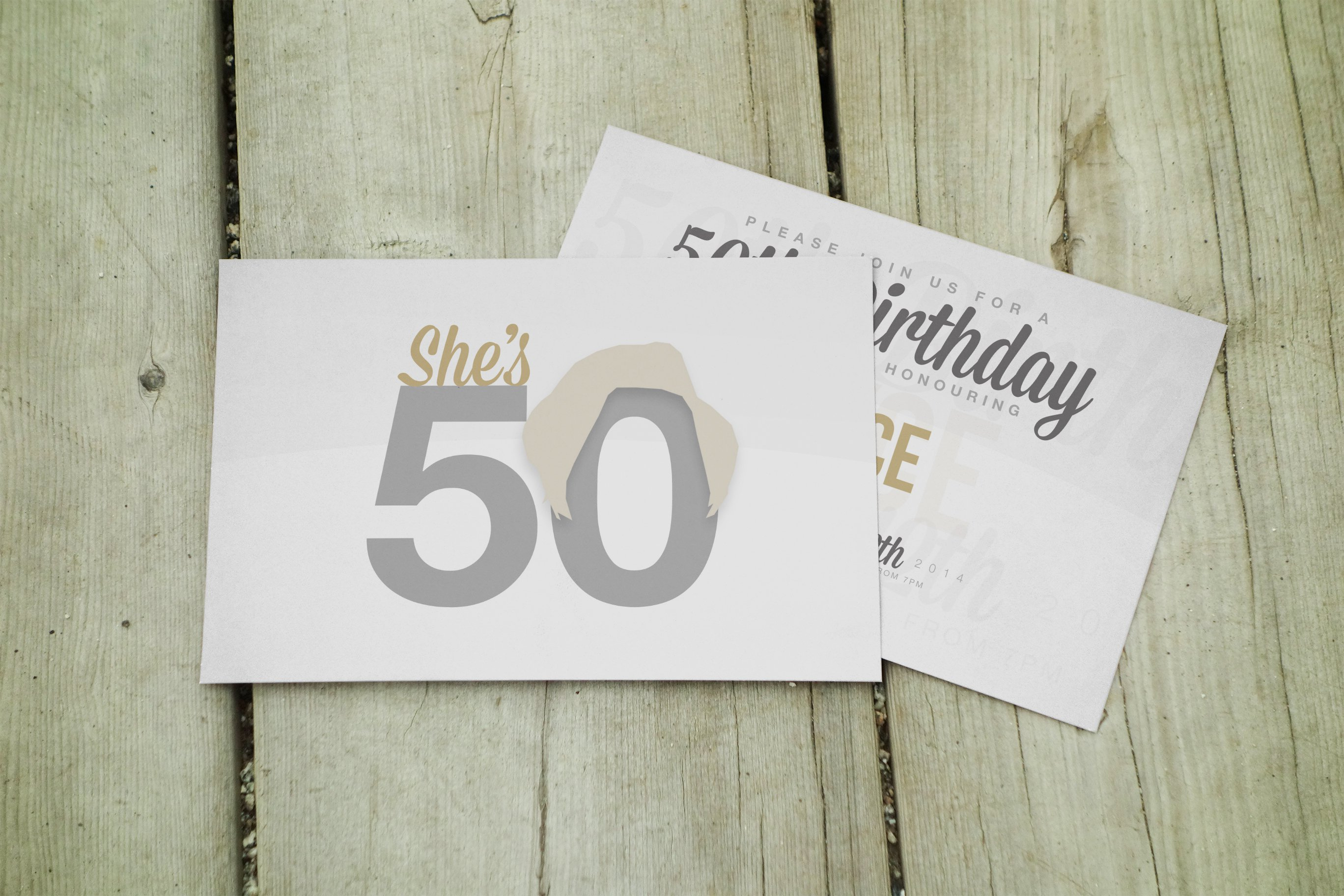 50th Birthday Invitations For Her Uk