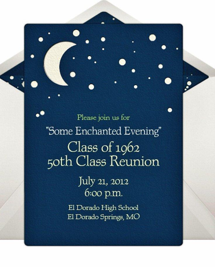 50th Class Reunion Invitation Wording