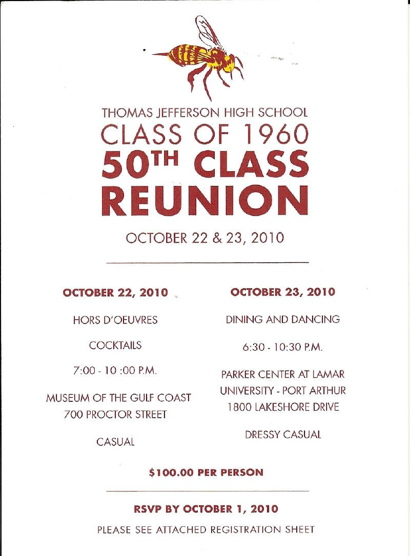 Class Reunion Invitations – Reunion Party Invitations