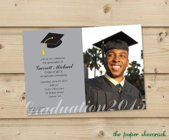 5x7 Graduation Invitation