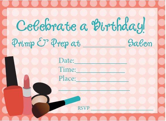 60 Birthday Invitation Blank Printable