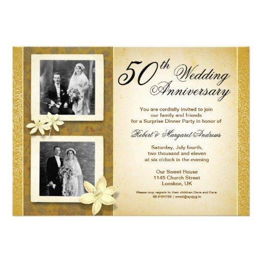 60 Wedding Anniversary Invitations Templates