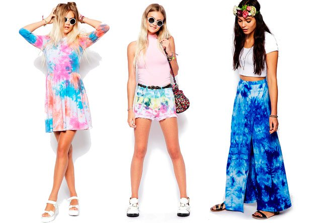60s Tie Dye Fashion