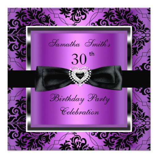 60th Birthday Silver Invitations