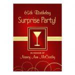 65th Birthday Party Invitations Free