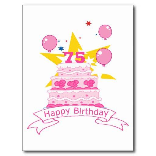 75 Years Old Birthday Invitations