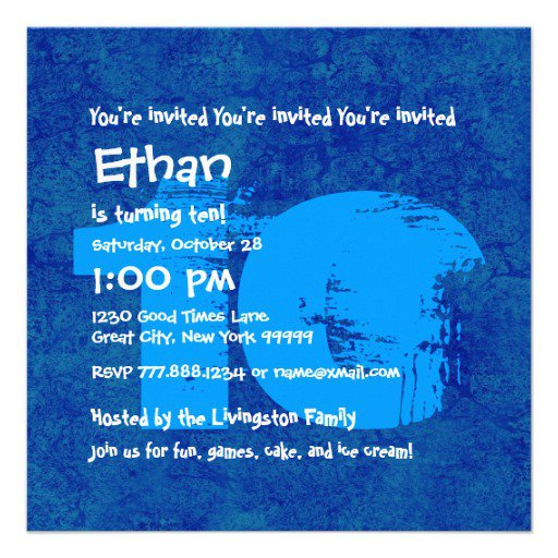 7 Year Old Birthday Invitations Wording