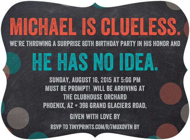 80th Birthday Party Invitations Wording Surprise