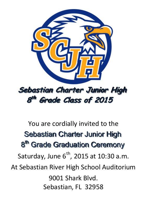 8th Grade Graduation Party Invitation Wording