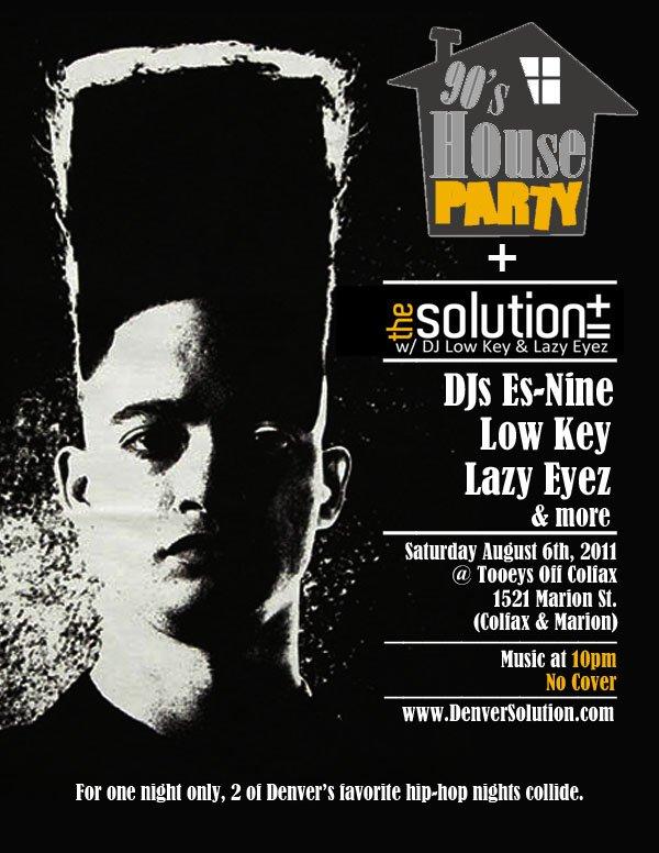 90s Hip Hop Party Invitations