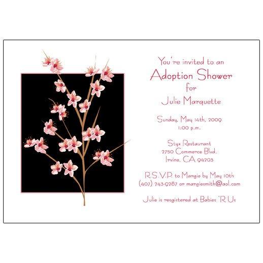 Adoption Party Invitation Wording