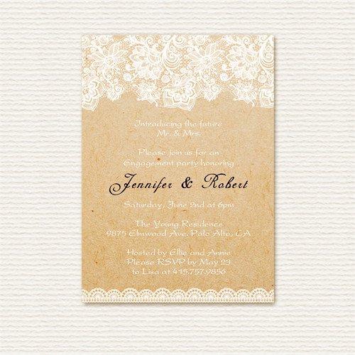 Affordable Rustic Wedding Invitations