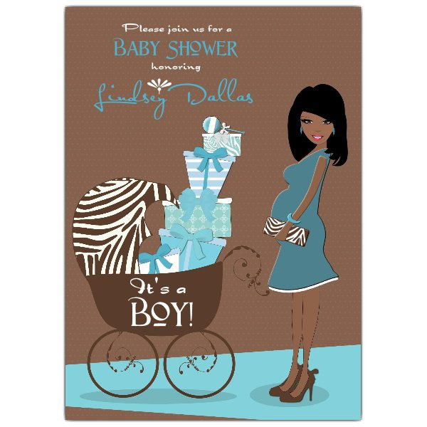 African American Baby Shower Invitations Free