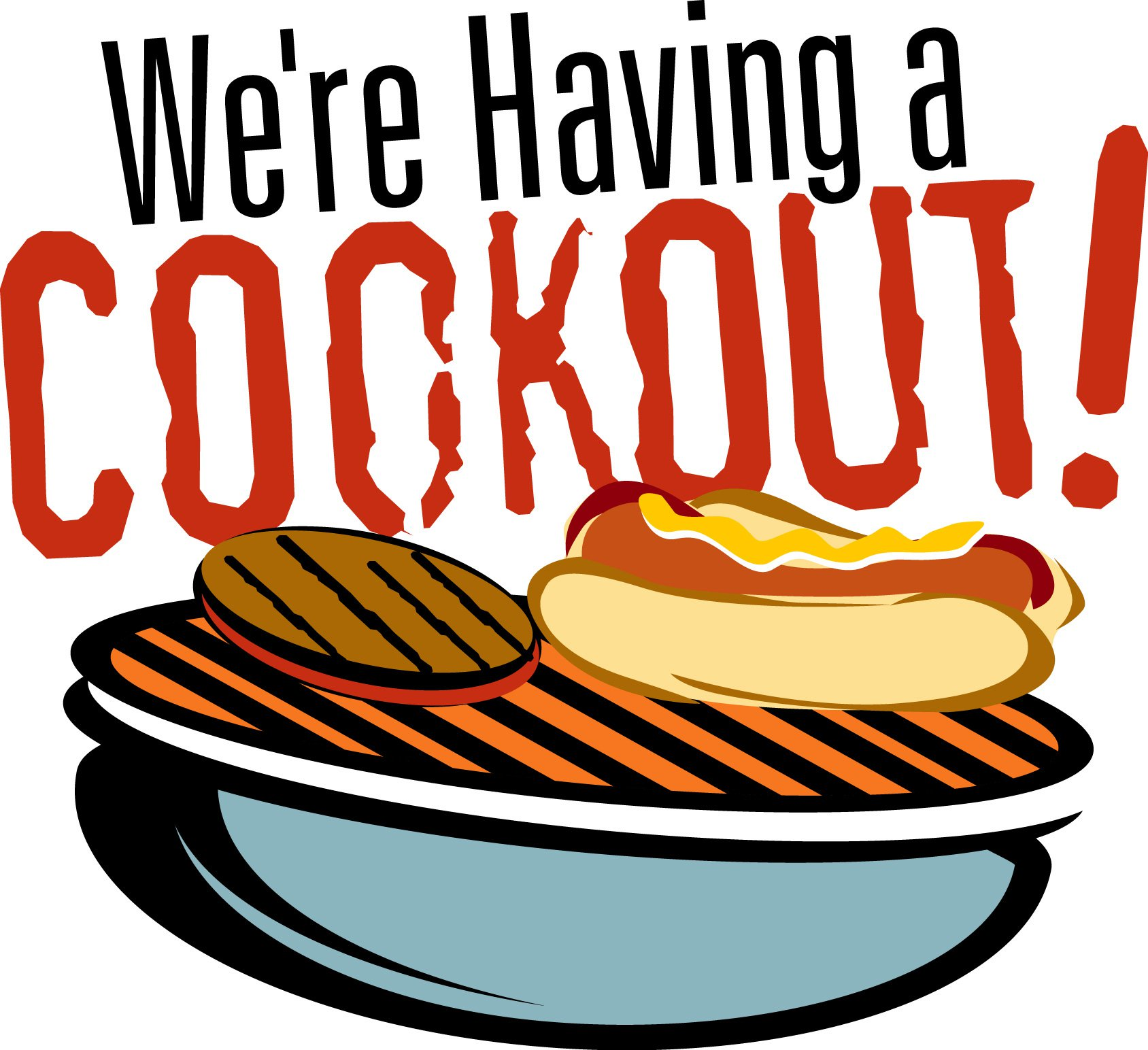 African American Cookout Invitation
