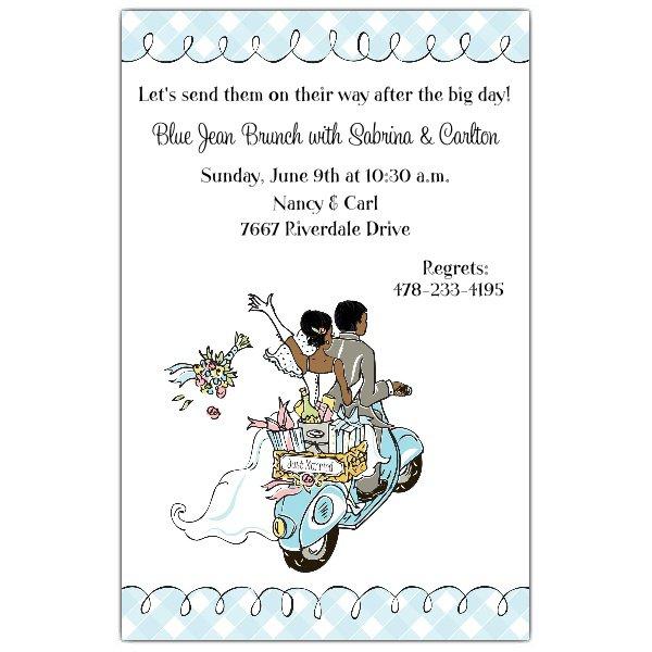 African American Wedding Invitations Wording