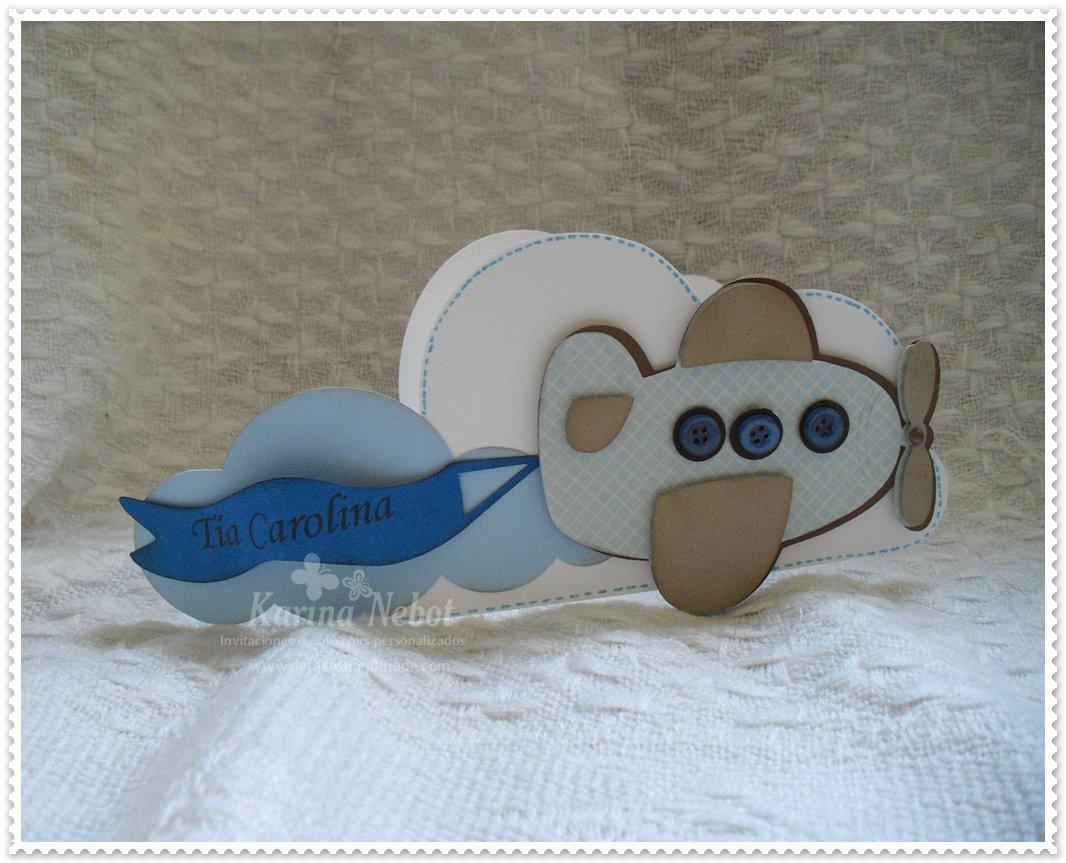 Airplane Baby Shower Invitation Templates