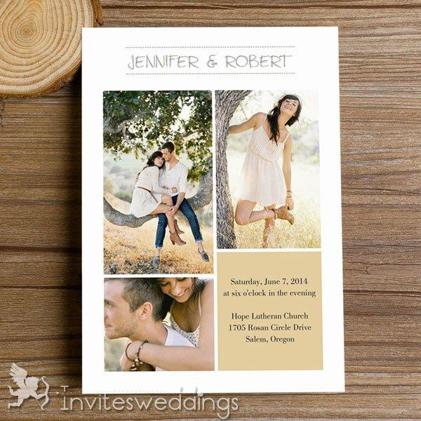 Autumn Wedding Invitation Kits