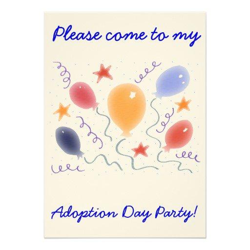 B Day Invitation Card
